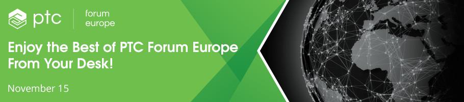 PTC Forum Europe Online