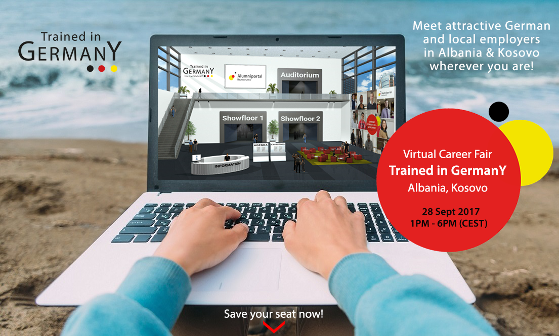 Virtual Career Fair Trained in Germany Albania & Kosovo