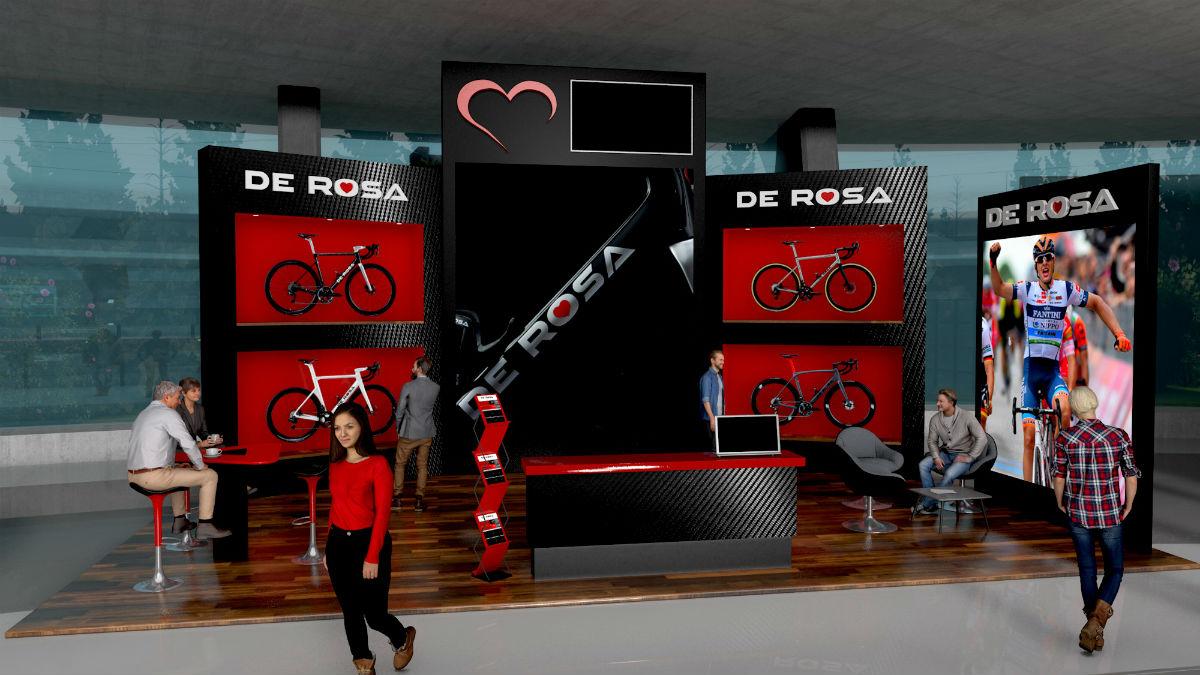 Exhibitor De Rosa
