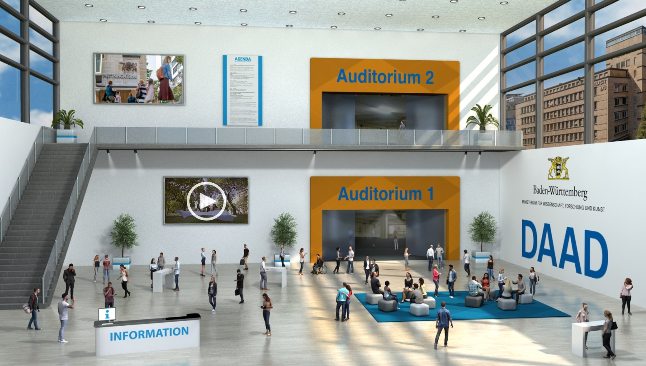 virtuelle Abschlussveranstaltung BaWü 2021