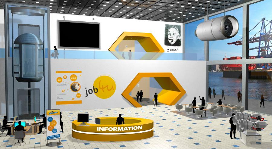 job4u virtuelle Karrieremesse - Registrierung