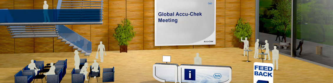 Global virtual meetings at Roche