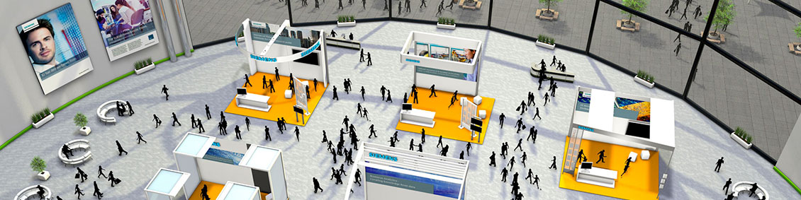 Virtual career fairs at Siemens