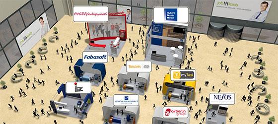 Die virtuellen IT-Jobmessen von JobLeads